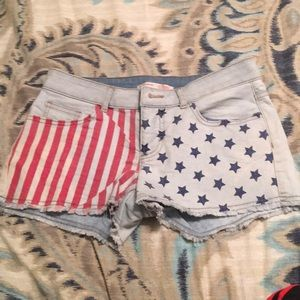 Jean Shorts- American colored